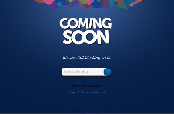 网站正在建设中